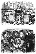 Gustave Dore gigantón Pantagruel 093 A4 Foto impresión