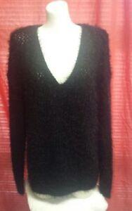 manches longues Noir Dkny femmes Pull Taille M 139 à B3600071s pour qpnawxcFx5