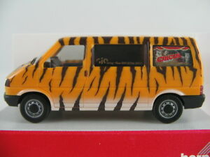 Herpa-048170-VW-t4-furgoneta-1990-1995-034-Gio-Verlag-Circus-Journal-034-1-87-h0-nuevo-en-el