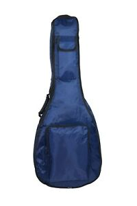 Blue Green Padded Acoustic Fits 36 Guitar Gig Bag Case Unique 1//2 Half Size UK