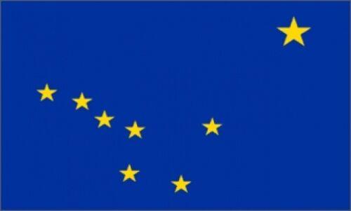 2/'x3/' Alaska US State Flag Outdoor Banner Pennant North Star Big Dipper Bear 2X3