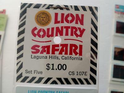 Collectibles Diligent Lion Country Safari Slides Pana-vue Laguna Hills California Cs 107e New Unequal In Performance