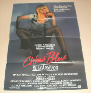 A1 Filmplakat ,CHINA BLUE,KEN RUSSEL,KATHLEEN TURNER