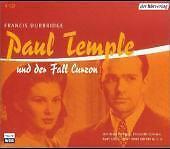 Paul Temple und der Fall Curzon, 4 Audio-CDs von Francis Durbridge (2003)