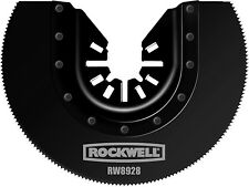 NEW - Rockwell RW8928 3-1/8'' HSS Semicircle Saw Blade
