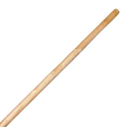 "84/"" White Wax Wood Staff"