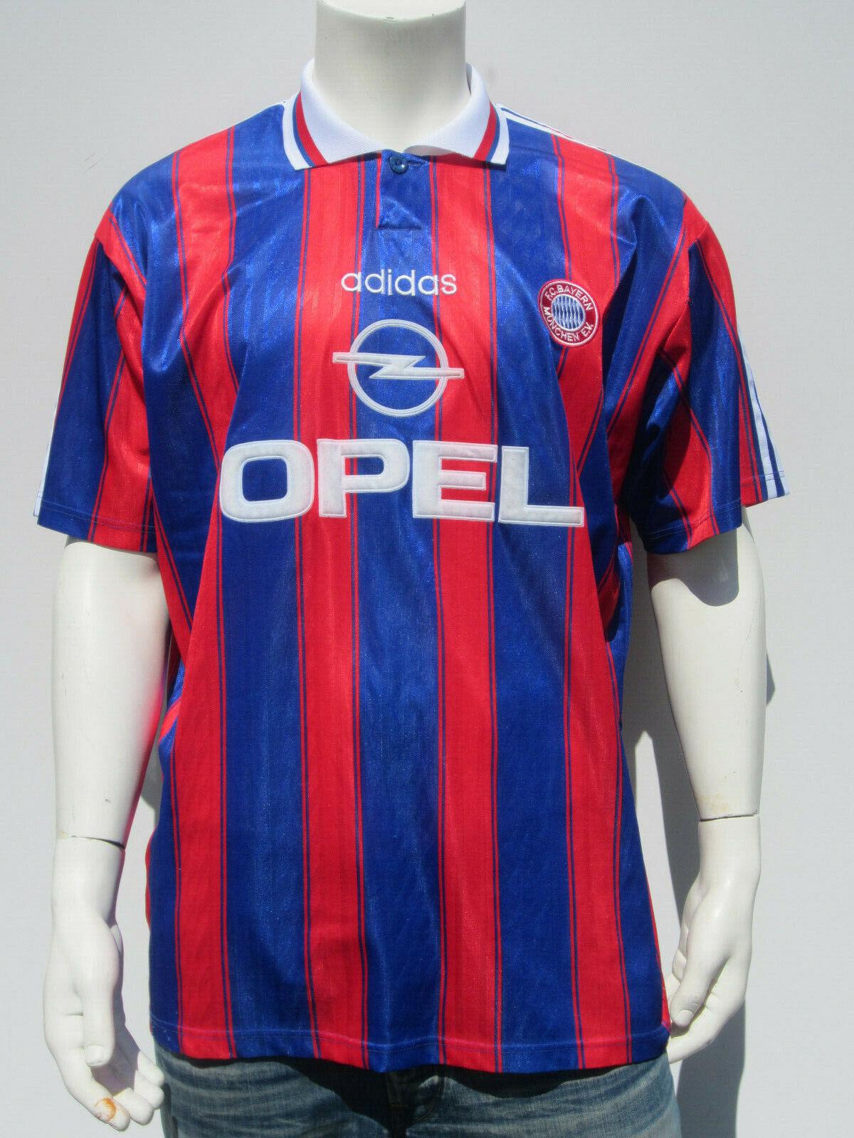 Adidas Bayern Munich Helmer 5  1996 UEFA Cup Winners Jersey (4)