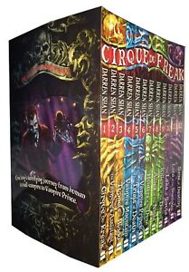 Cirque-Du-Freak-The-Saga-of-Darren-Shan-Collection-12-Books-Set-Shan-Darren