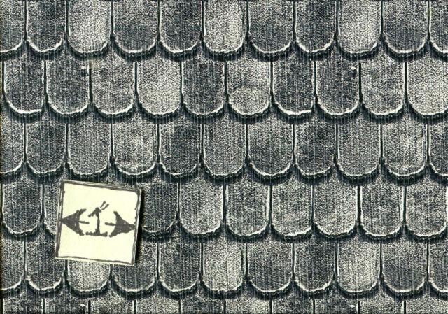 Georgian Roof Tiles wallpaper Jackson/'s Miniatures dollhouse 1pc JM41 1//12 scale