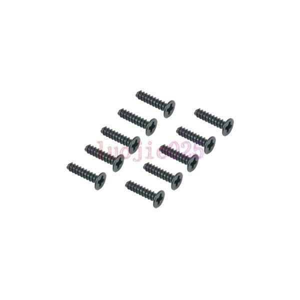 HSP Parts 1:10 RC Buggy//Truck//Car 10PCS 02180 Flat Head Screw 3*16