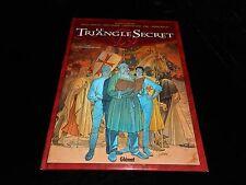 Convard / Chaillet : Le triangle secret 1 : Le testament du fou Glénat DL 2000