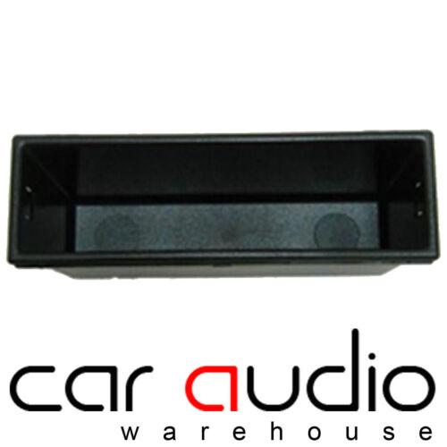 Skoda Octavia Double Din to Single DIN Car Stereo Pocket Tray Fascia Adaptor