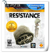 3 IN 1 PS3 RESISTANCE COLLECTION PlayStation Action Games Sony Computer SCE