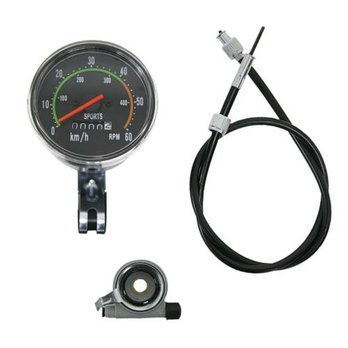 Vintage Old Style Speedometer Fit 49cc 60cc 80cc Motorized Bicycle Motor