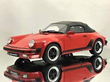 Porsche 911 3.2 Speedster 1989 rojo coche modelo 1:18 GT Spirit