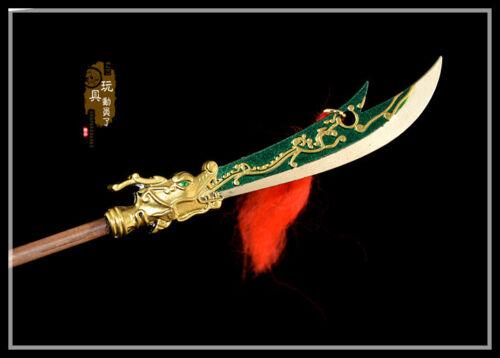Hot 1//6 1:6 sword weapon guan yu halberd 青龙偃月刀 Three kingdoms total war toy