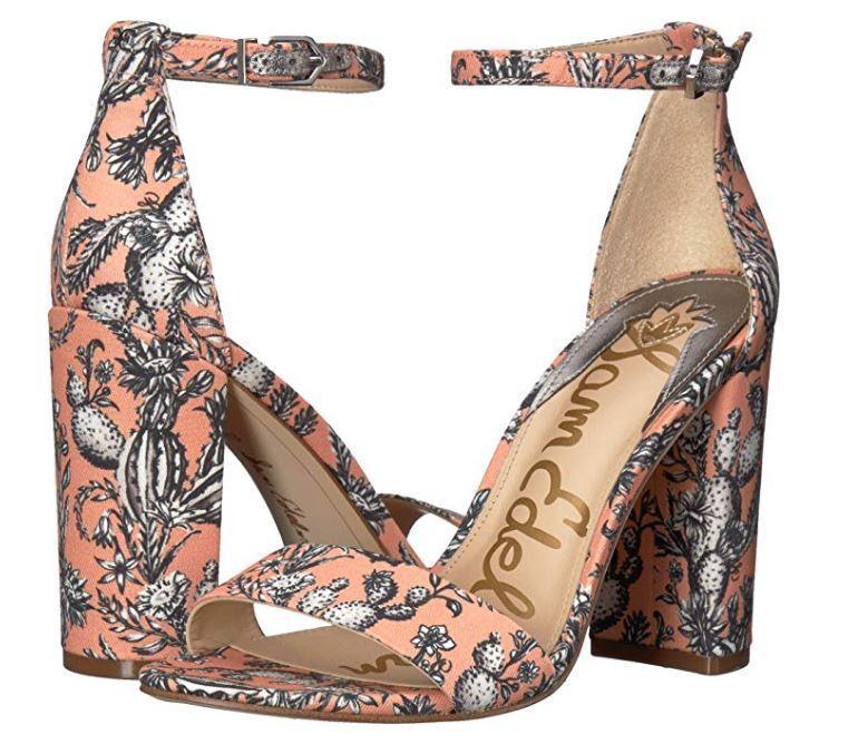 Sam Edelman Women's Sandal Yaro Cactus 4  Heels 7.5 9.5 or 10, New  120