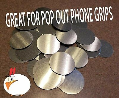 """Sublimation Circle Blanks  Perfect for  PHONE GRIPS 4 cm Lot of 50 1.57/"""""""