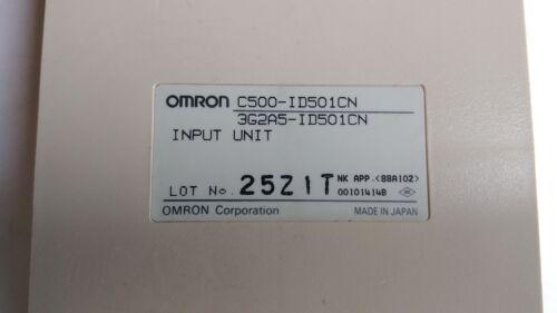 3G2A5-ID501CN C500-ID501CN Used OMRON INPUT UNIT