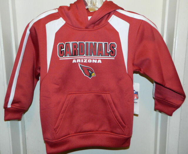 8f5cc9b3d423 Arizona Cardinals NFL Football Pullover Hoodie Boys Youth XS 4 - 5 ...