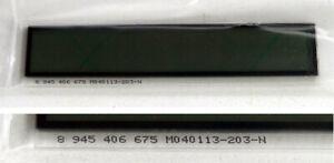 Blaupunkt Ersatzteile Car Radio Display Abdeckscheibe 8945406675 M040113-203-N