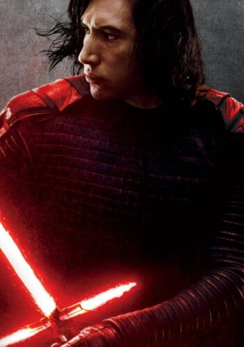 STAR WARS; THE LAST JEDI Movie PHOTO Print POSTER Art Kylo Ren Adam Driver 048