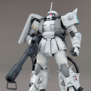 GUNDAM - 1 100 Zaku II Shin Matsunaga Ver. 2.0 Master Grade Modelo Kit MG Bandai