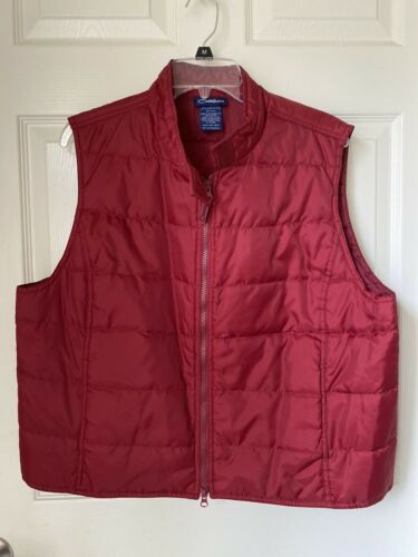 Catalina Very Berry Vest Sz XL