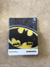 Dc Comics Batman Enamel Earring Set Pair