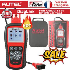 Interface Diagnostique AUTO MultiMarques AUTEL DiagLink AutoLink Valise OBD2
