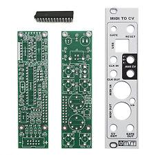 MST MIDI to CV Converter PCB Combo by Synthrotek Eurorack Module Modular DIY