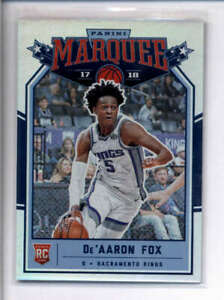 DE-039-AARON-FOX-2017-18-PANINI-CHRONICLES-231-MARQUEE-ROOKIE-14-99-AJ3681