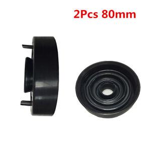 2Pcs 80mm Dia Rubber Housing Seal Cap Dust Cover for Car LED HID Headlight