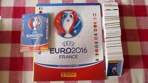 PANINI-ALBUM-BLANC-COLLECTOR-FOOTBALL-VIDE-SET-COMPLET-EURO-2016-FRANCE