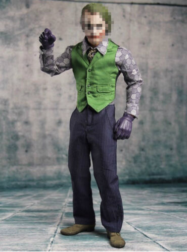 1//6 Joker Heath Ledger Costume Suit Set 2.0 For DX01 DX11 Hot Toys U.S.A SELLER