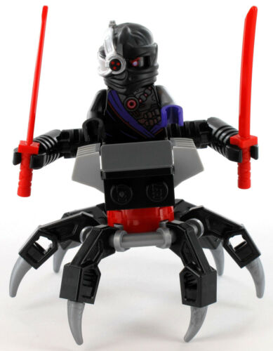 Lego Ninjago minifigur Nindroid avec araignées véhicule et des sabres NEUF 40374