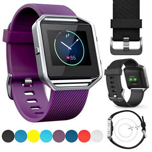 Silicone-Wrist-Band-Strap-Bracelet-Watchband-Replacement-for-Fitbit-Blaze-Watch