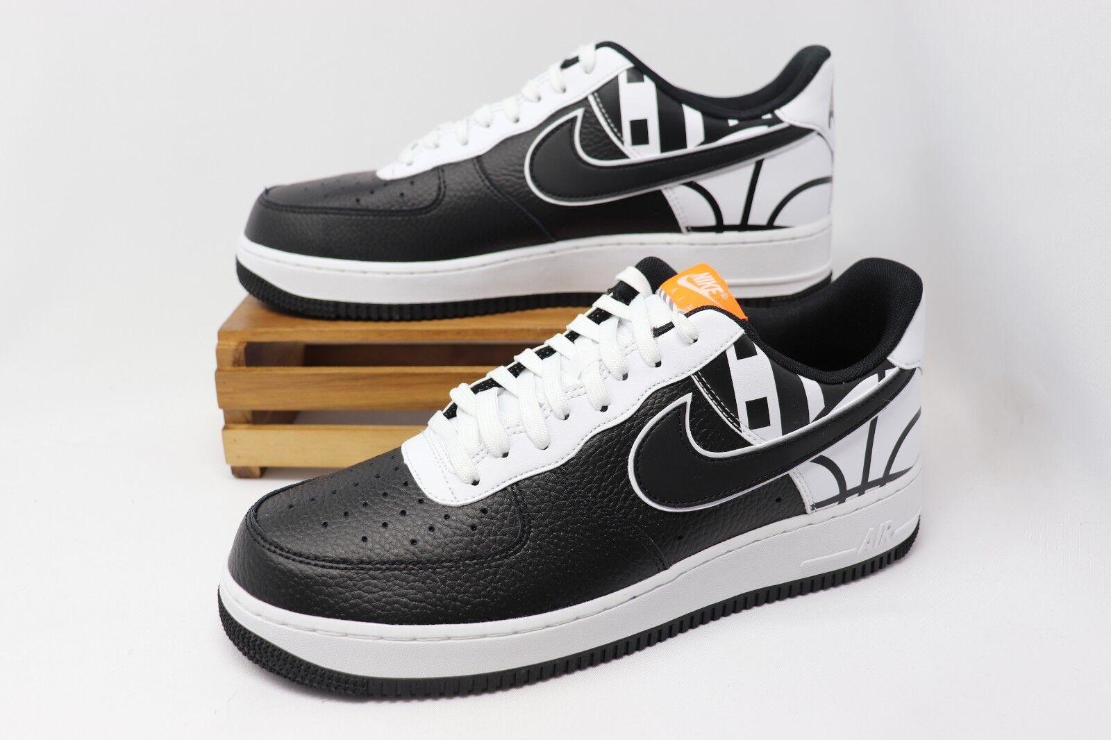 Nike air force 1 niedrige nba - kraft - - - logo - schwarz - weiße 823511-011 männer größe 13 neue 87e30e