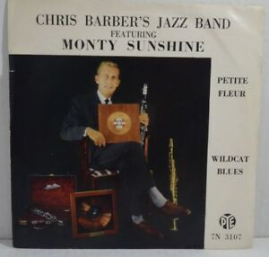 "Chris Barber's Jazz Band -Monty Sunshine -Petite Fleur /Wild Cat Blues 7""Single - Königsbrunn, Deutschland - Chris Barber's Jazz Band -Monty Sunshine -Petite Fleur /Wild Cat Blues 7""Single - Königsbrunn, Deutschland"