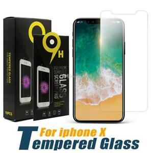 Premium Tempered Glass Screen Protector For iPhone X/XS
