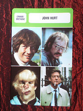 JOHN HURT - MOVIE STAR - FILM TRADE CARD - FRENCH