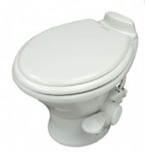 Details about Dometic Traveler 311 Toilet, Short, Gravity Discharge, White,  Narrowboat