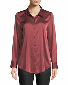 48b9ee26c98efd Image is loading NEW-EILEEN-FISHER-MONTEREY-STRETCH-SILK-CHARMEUSE-CLASSIC-