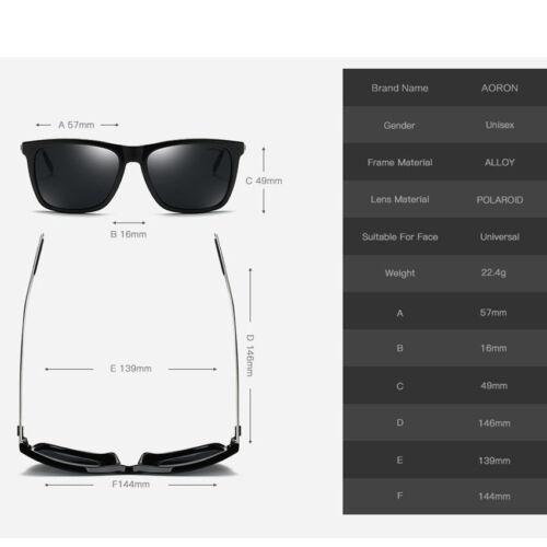 Retro Mens Sunglasses Polarized Driving Vintage Fashion Shades Eyewear HOT