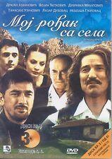 Moj rođak sa sela DVD 5+6 Epizoda Serija Rodjak Disk 3 Orden za zasluge Srbija