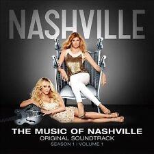 The  Music of Nashville: Season 1, Vol. 1 by Nashville Cast (CD, Dec-2012, Big Machine Records)