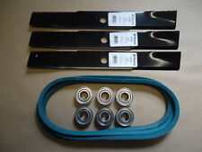 "Deck Kit Bearings Blades Belt John Deere 46"" 48"" mower 140 300 314 316 317 318"