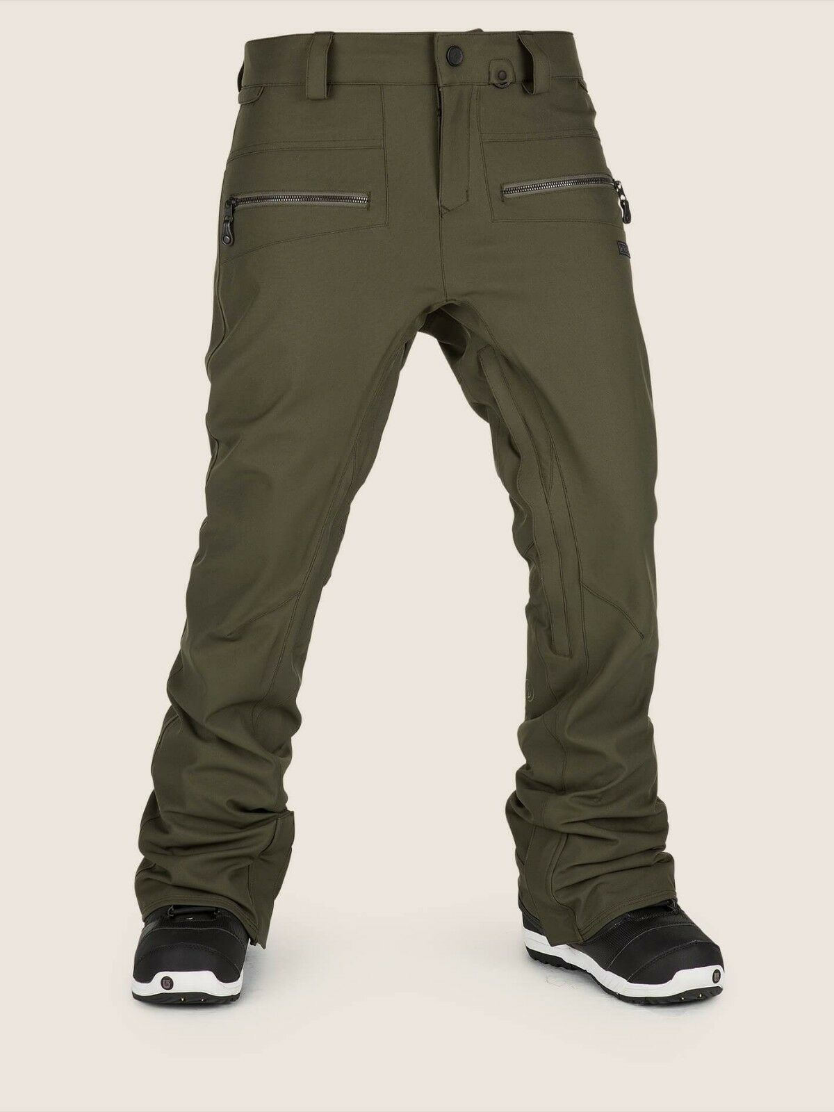 2019 NWT WOMENS VOLCOM IRON STRETCH PANT   180 S Forest dropped rise tapered fit  online store
