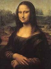 Mona Lisa metal fridge magnet    (na)