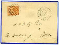 ITALIA - Regno - 1887 - Bergamo - Piazza Brembana - 20 c. annullato con numerale